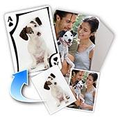 Tierfreund Beidseitig individualisierbare Spielkarten