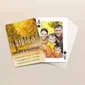 2-seitig individualisierbare Spielkarten, Weihnachten
