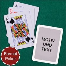 Poker Spielkarten Standard Rot