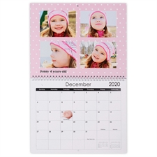 Gut gemischt Wandkalender 35,6 cm 27,9 cm