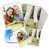 Individualisierte Vorder- und Rückseite Spielkarten, einfacher Stil - Valentinstag