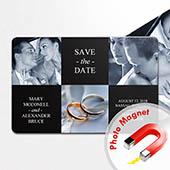 Bund der Ehe Collage drei Fotos Schwarz