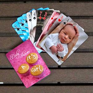 2-seitig individualisierbare Spielkarten, Werbegeschenk