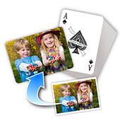 Individualisierte Oster-Spielkarten Querformat