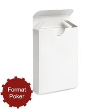 Poker Faltschachtel für Spielkarten
