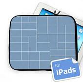Facebook 41 Fotos Kollage iPad Tasche