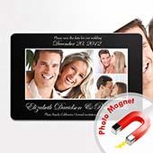 Save the Date Magnet Romantische Hochzeit 10,16 x 15,24 cm