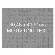 Grosses personalisiertes Magnetisch-Foto-Puzzle mit Text