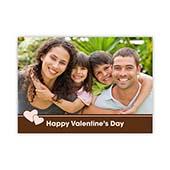Alles Gute zum Valentinstag Pastel Fotokarte Personalisieren 127x178