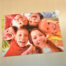 RiesenFotopuzzle 61x45cm 70 Teile personalisierte Box