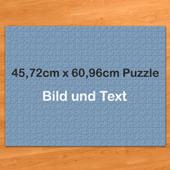 Riesenfotopuzzle 45x61cm 500 Teile personalisierte Box