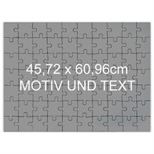 Riesenfotopuzzle selbstgestalten 46x62cm 70 Teile