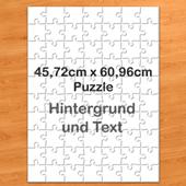 Personalisiertes Riesenfotopuzzle Hochformat 62x46cm 70 Teile personalisierte Schachtel