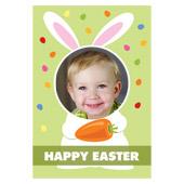 Süßes Häschen3D Fotokarte / Kippkarte