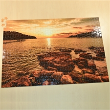 71cmx50cm Fotopuzzle 1000 Teile Hintergrundfarbe und Text