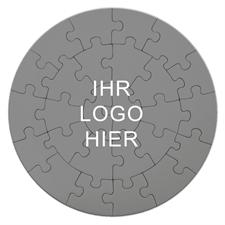 Rundes Puzzle Personalisieren 26 Teile; Durchmesser 18,4 cm