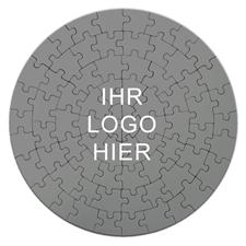 Selbst Gestalten Rundes Puzzle Personalisieren D: 18,4 cm
