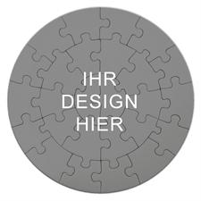 Mein Design Rundes Puzzle Personalisieren Durchmesser 18,4 cm