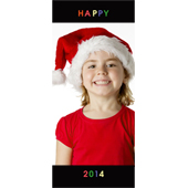 Ein glückliches 2015 Lesezeichen Animiert Personalisiert