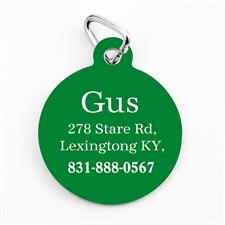 Weihnachtliches Grün Schmuck Einseitig personalisieren