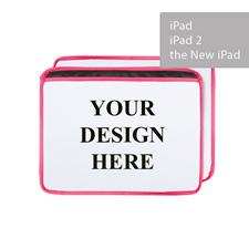 Personalized Ultra-plush Padded iPad Sleeve, Landscape