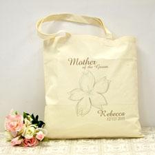 Blumenstrauß Kirsch Personalisierte Stofftasche Budget