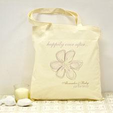 Blumenstrauß Garten Personalisierte Stofftasche Budget