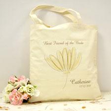 Blumenstrauß Gelb Personalisierte Stofftasche Budget
