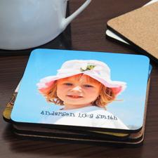 Fotobierdeckel 6er Pack Hintergrundfarbe & Text