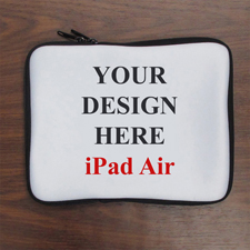 "Design iPad Air Sleeve Querformat Personalisiert 11"" bzw 17,1 x 24,5 cm"