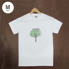 Größe M T-Shirt Braun Hochformat Minibild Personalisieren 100% Baumwolle