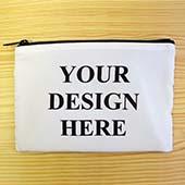 Personalisierte Kosmetiktasche 24,1 x 33,0 cm Beide Seiten gleich