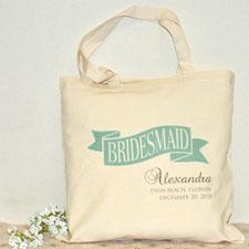 Brautjungfer Stofftasche Personalisieren