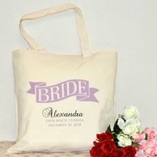 Braut Stofftasche Personalisieren