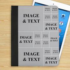Collage 16 Fotos iPad Folio Case Personalisieren