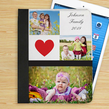I love you Herz iPad Folio Case Personalisieren