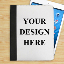 Freie Hintergrundfarbe & Text iPad Folio Case Personalisieren