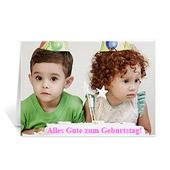 Alles Gute zum Geburtstag Foto-Geburtstagskarten, 12,7 cm x 17,78 cm Querformat gefaltet