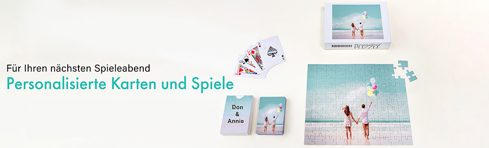 Ihr Spiel Ihr Design Spielkarten Puzzles Spielmatten