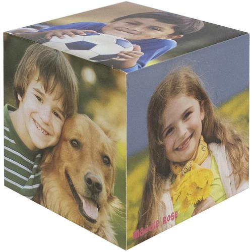 5 gestaltbare Fotowürfel für private und gewerbliche Verwendung