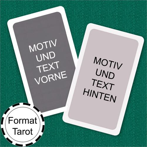 Tarot Size Custom Cards (Blank Cards) White Border