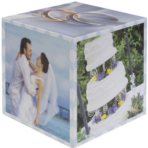 Hochzeit Jubiläum  5 gestaltbare Fotowürfel Bilder des Glücks
