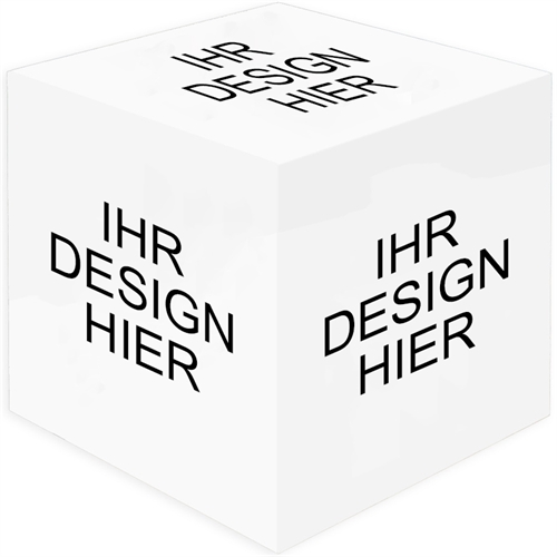 Design  5 gestaltbare Fotowürfel mit Ihren Fotos und Ideen