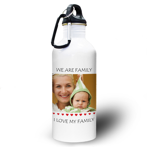 Kleiner Schatz Wasserflasche zum Personalisieren