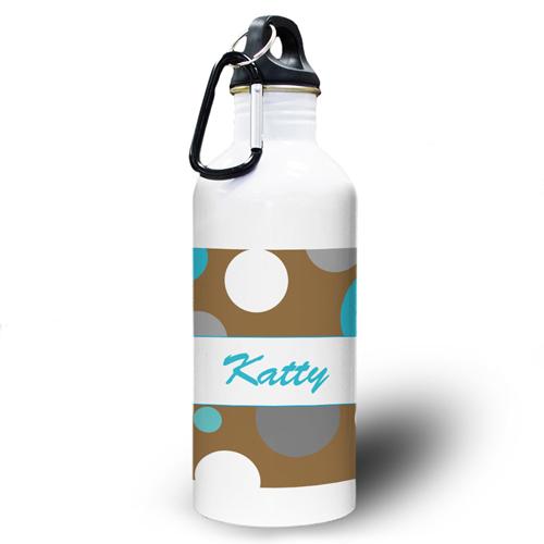 Junge Gepunktet Wasserflasche