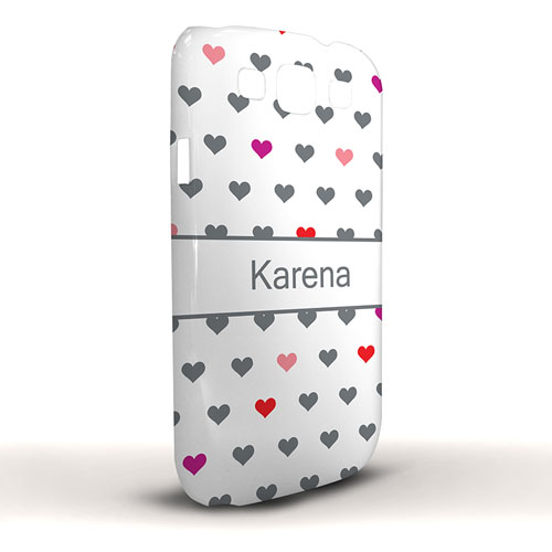 Bunte Herzen Samsung S3 Case