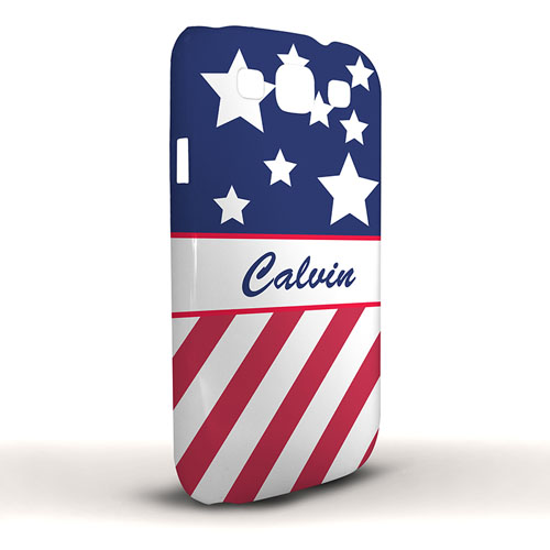 US Flagge Samsung S3 Case Personalisieren