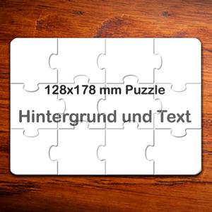 127mm X 178mm Foto Puzzle In 12 Teilen