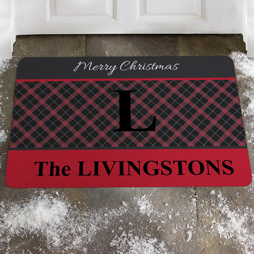 Gut Gemustert Fröhliche Weihnachten Fußmatte Türmatte Personalisieren