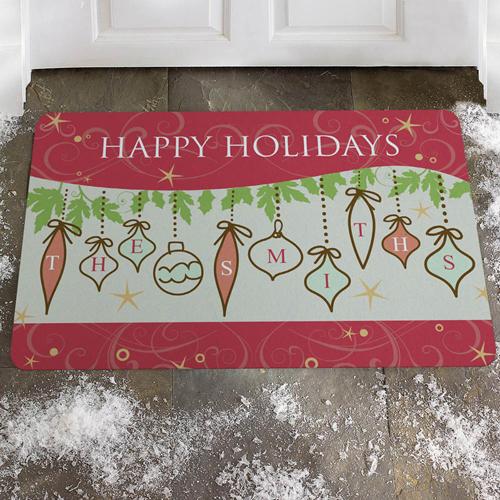 Es weihnachtet Weihnachten Fußmatte Türmatte Personalisieren
